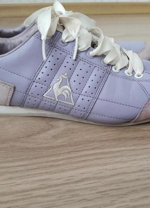 Супер красивые, женственные, мягкие и очень удобные, кожаные кроссовки. le coq sportif