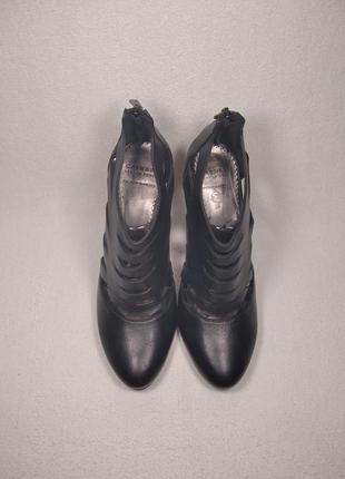 Женские туфли высокий каблук скрытая платформа  carnaby gj 5140019 blk_09445
