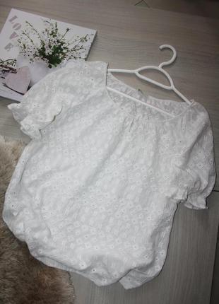Нежная блузочка из шитья!