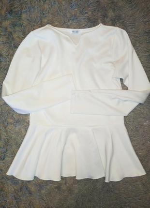 Блуза баска классика школьная форма