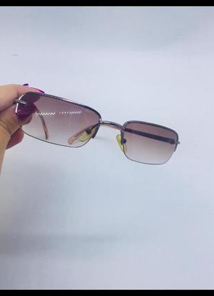 Calvin klein оригинал солнцезащитные очки отличное качество бежевые