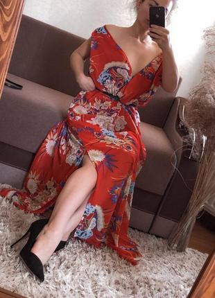 Шикарное платье батал вечернее нарядное длинное
