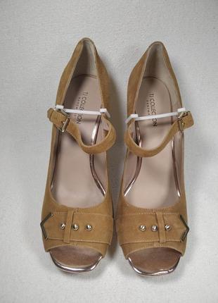 Женские туфли высокий каблук платформа  carnaby gj 5160513 bgz_08817