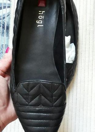 39-40 люкс кожаные туфли бренд
