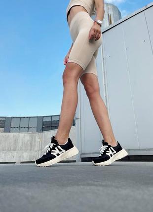 Mlb sneakers black white кроссовки