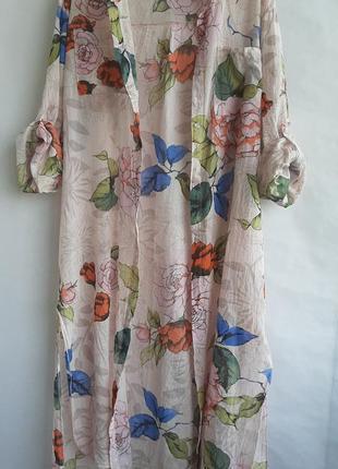Платье рубашка туника хлопок италия l/xl/xxl оверсайз oversize missoni