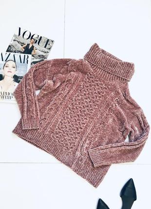 Плюшевый свитер оверсайз от george