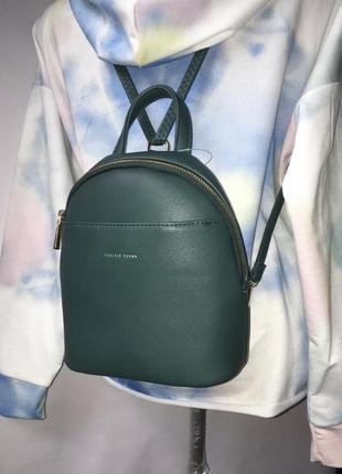 Рюкзак forever young из искусственной эко кожи заменителя мини маленький сумка сумочка через на плече на спину с длинной короткой ручкой ремешком