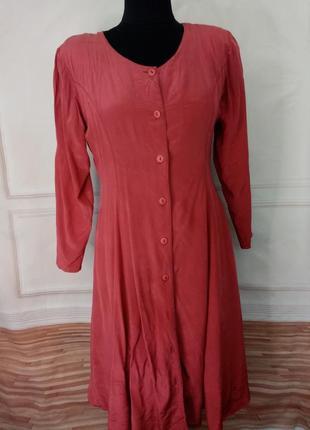 Винтажное платье из шёлка