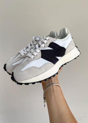 New balance 327🆕женские замшевые шикарные кроссовки нью баланс🆕серые с черным