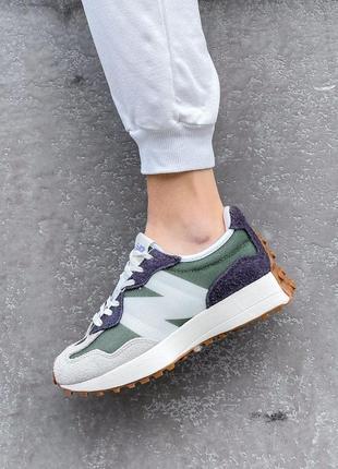 New balance 327🆕женские замшевые шикарные кроссовки нью баланс🆕разноцветные