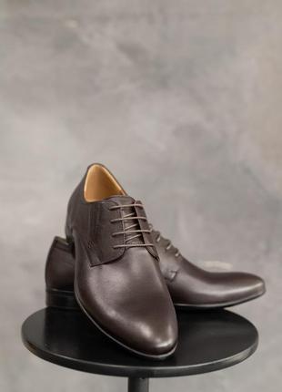 Натуральная кожа! классические мужские туфли2 фото