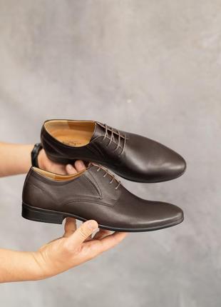Натуральная кожа! классические мужские туфли