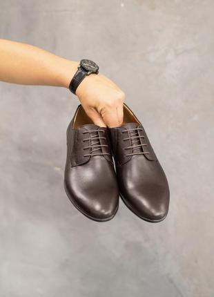 Натуральная кожа! классические мужские туфли4 фото