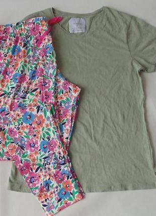 Тонкая пижама primark love to lounge м 12-14