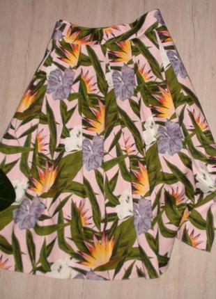 Классная юбочка в принт dorothy perkins