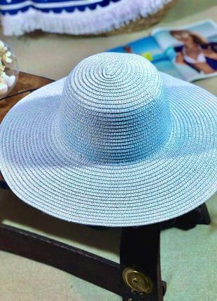 🔥🔥солнцезащитные шляпки из рафии расцветки3 фото