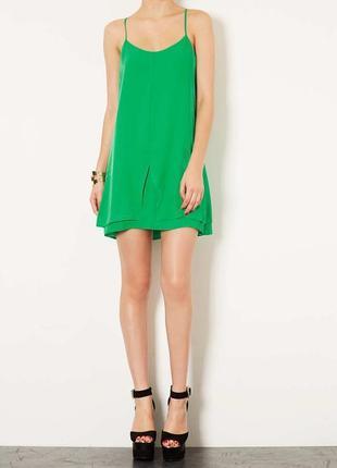 Легкое шифоновое платье topshop