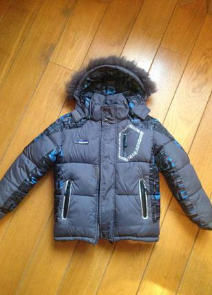 Зимняя куртка для мальчика