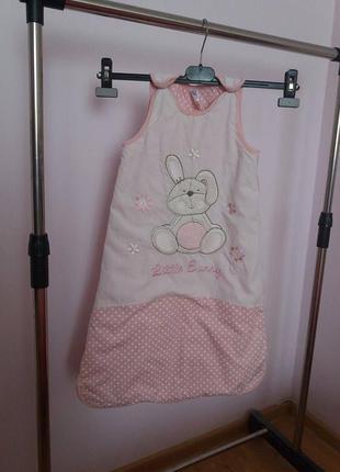 Спальный мешок жигтоз tu для девочки 6-12 месяцев