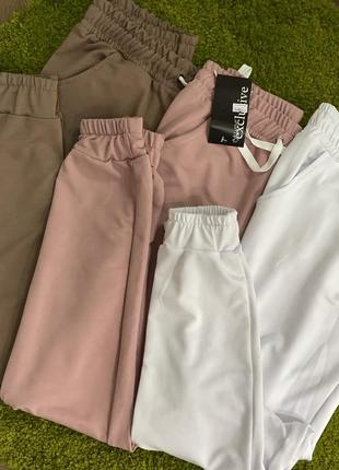 Спортивные штаны, джогеры, женские спортивные штаны, спортивні штани, джогери9 фото