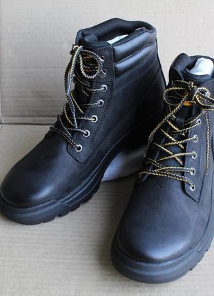 Ботинки caterpillar bantom black p723856 оригинал натуральный нубук