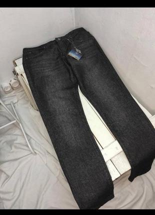 Джинсы тёмно-серые графитовые бойфренды плотный джинс esmara распродажа