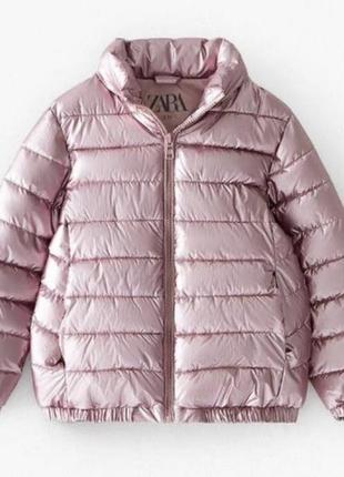 Стильная красивая куртка для модницы от zara