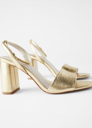 Красивые и удобные босоножки туфли zara 36 размер