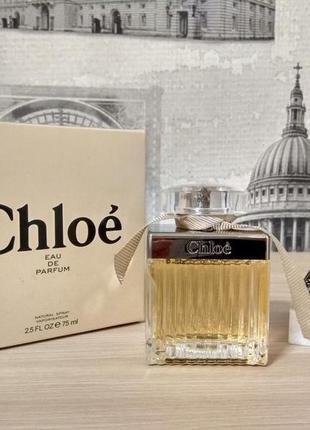 Chloe eau de parfum оригинал_7 мл затест
