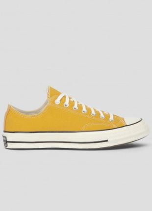 Желтые кеды chuck taylor vintage 70