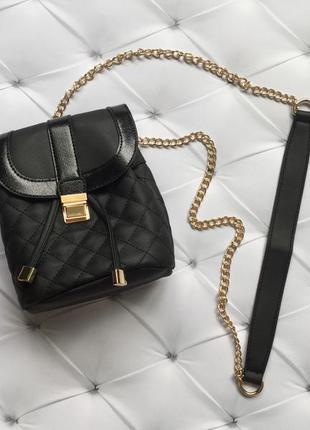 Новая сумка new look. стёганная сумочка нью лук