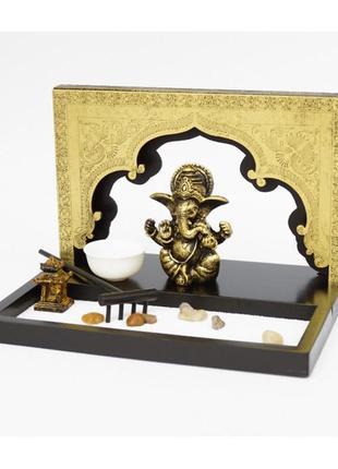 Сувенир набор дзэн сад камней ганеш буддизм