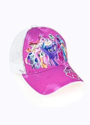 Кепка для дівчаток, рожева little pony