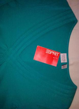Блуза футболка  esprit, 95% хлопок+ 5% эластан2