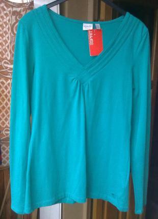 Блуза футболка  esprit, 95% хлопок+ 5% эластан