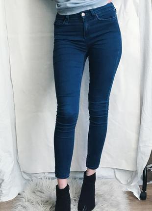 Прямые джинсы скини от топшом