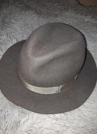 Классическая шляпа федора трилби failsworth