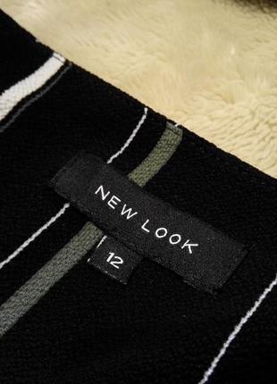 Распродажа!лёгкое платье в полоску с запахом короткий рукав р 10-12 new look5 фото