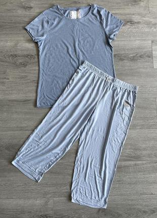 Пижама соборная primark + george футболка капри