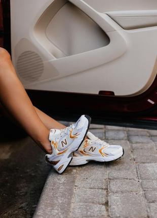 New balance 530 кроссовки низкие спортивные