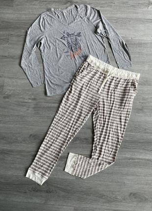 Пижама кофта и штаны комплект для дома и сна esmara
