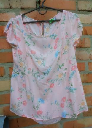 Блуза тонка ніжна котон