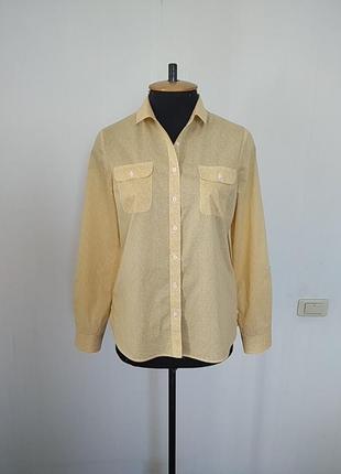 Хлопковая рубашка/блуза. kew