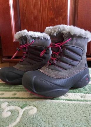 В идеальном. зимние ботинки, сапоги для девочек columbia rope tow