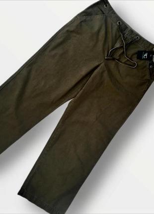 Стильные классические коттоновые брюки