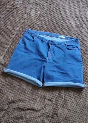 Крутые качественные джинсовые шорты большого размера