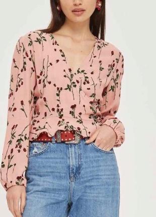 Блуза на запах блузка topshop
