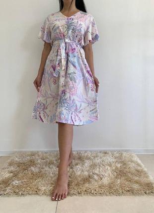 Летнее платье рубашка 33261