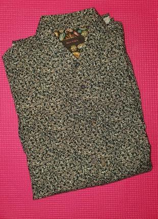 Стильная рубашка sand размер 39 ( s/m)